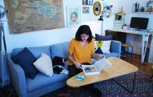 Dans l'appart' de… Marie, designer d'espaces à Paris