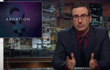John Oliver fait le point sur l'avortement aux États-Unis