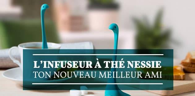 L'infuseur à thé Nessie, ton nouveau meilleur ami