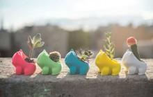 De petits Bulbizarre en guise de pots de fleurs, la mignonnerie Pokémon du jour