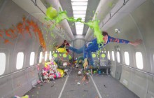 OK Go sort le making-of de son clip en apesanteur (mais sans Calogero)