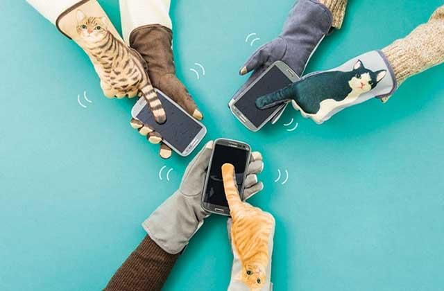 Les gants mignons qui transforment vos mains en chats