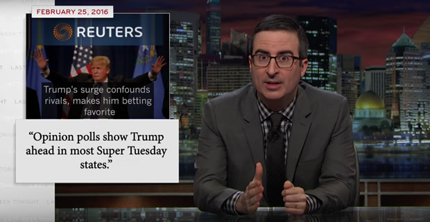 john-oliver-donald-trump-super-tuesday
