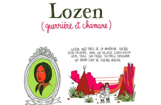 Lozen, plus badass que Mulan & Pocahontas réunies — Les Culottées, par Pénélope Bagieu