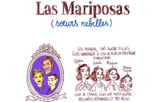 Les Mariposas, de Cendrillon rebelle à symboles de résistance  — Les Culottées, par Pénélope Bagieu