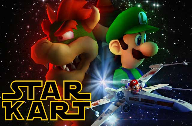 « Star Kart » le mashup de « Mario Kart » et « Star Wars » qui donne envie
