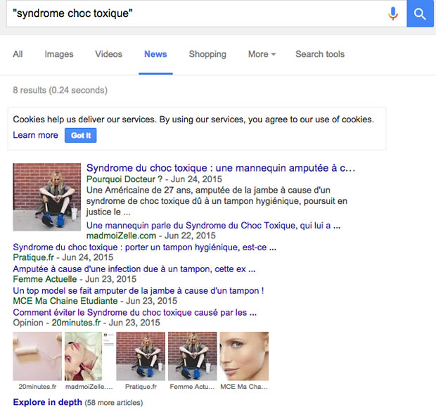 syndrome-choc-toxique-google-news