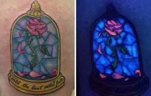 Le tatouage qui se révèle sous les lampes UV, une tendance canon… mais risquée