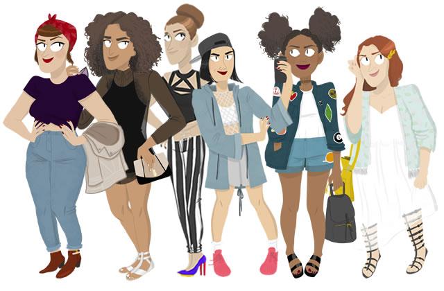 Les tendances mode printemps/été 2016