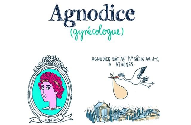 Agnodice, la gynécologue révolutionnaire — Les Culottées, par Pénélope Bagieu