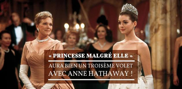 «Princesse malgré elle » aura bien un troisième volet avec Anne Hathaway!