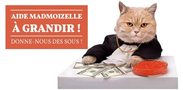 Soutiens financièrement madmoiZelle !