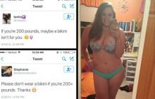 Une jeune femme répond avec talent à des insultes grossophobes sur Twitter