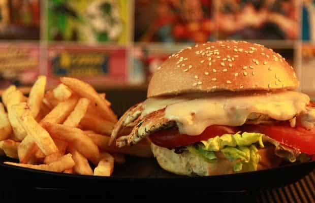 burger poulet comics