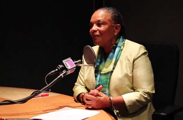 Christiane Taubira critique les injures sexistes