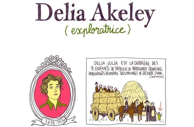 Delia Akeley, la femme d'explorateur devenue exploratrice — Les Culottées, par Pénélope Bagieu