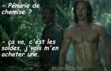 «The Legend of Tarzan» a un nouveau trailer, à base de Alexander Skarsgård torse nu