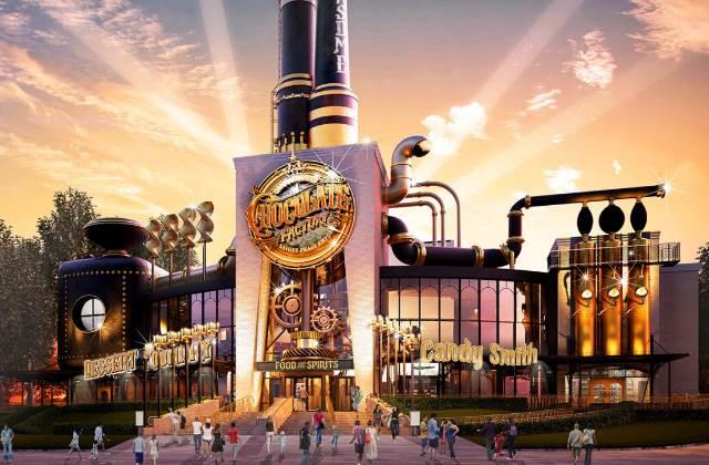 La chocolaterie de « Charlie et la chocolaterie » va ouvrir à Universal Studios