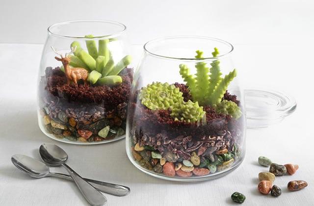 Les vivariums comestibles d'Heather Baird, un trompe-l'œil alléchant