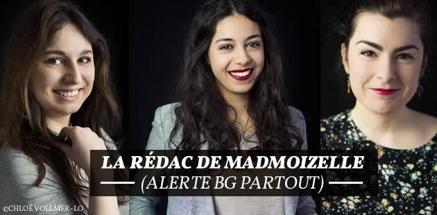 L'équipe de madmoiZelle.com (alerte BG partout)