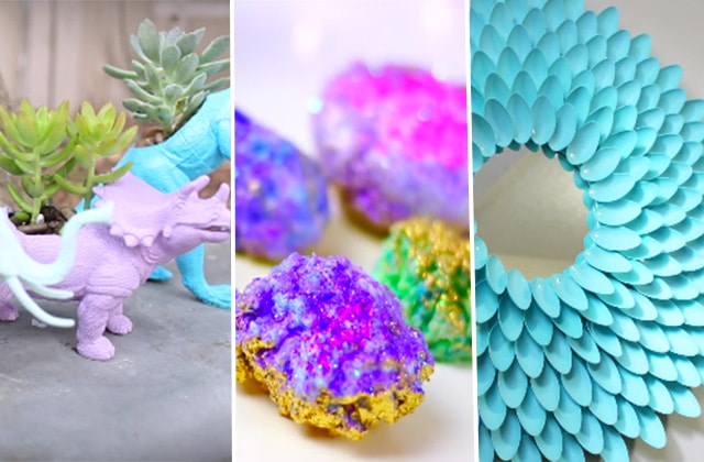 Sélection de DIY déco en vidéo pour un printemps pastel