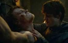 Theon et Ramsay (de «Game of Thrones») se réconcilient chez Jimmy Kimmel!