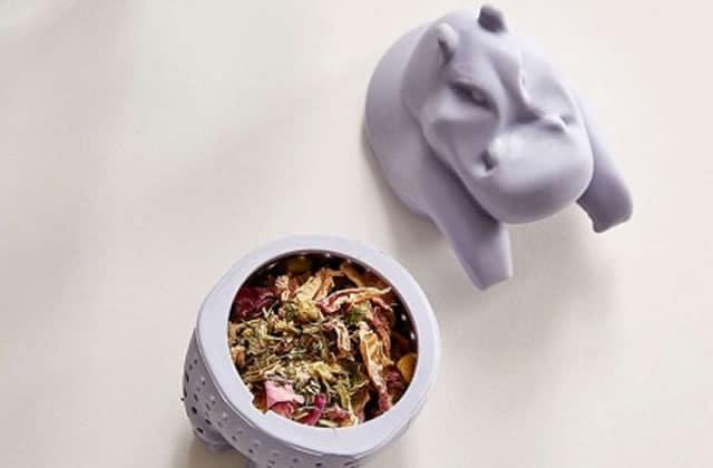 L'infuseur à thé hippopotame, pour des après-midi détendues!