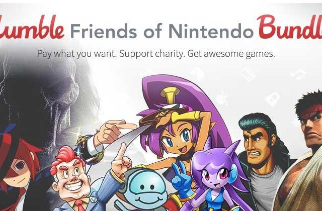 Des jeux Wii U & 3DS à petits prix dans un Humble Bundle Nintendo!