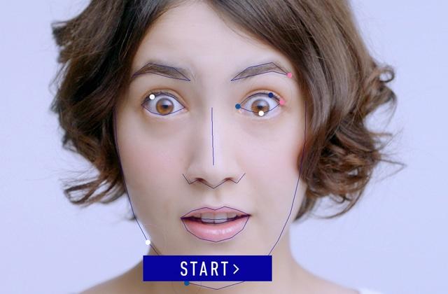 Compose une mélodie basée sur… les traits de ton visage!