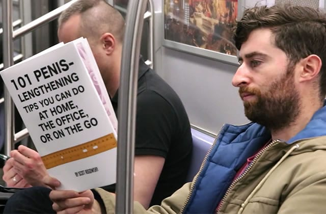Comment mettre mal à l'aise tes voisins de métro avec un livre