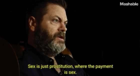 nick offerman sex