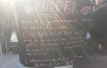 Reportage à la #NuitDebout—Samedi «40 mars»