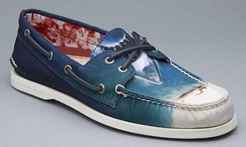 chaussures les dents de la mer