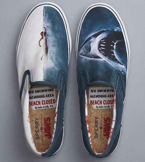 chaussures Sperry les dents de la mer