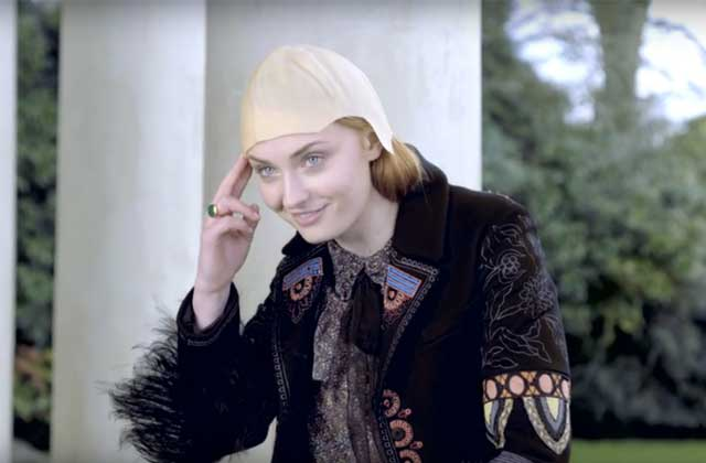 Sophie Turner (Sansa de «Game of Thrones») imite Jon Snow, Wolverine et double Justin Bieber!