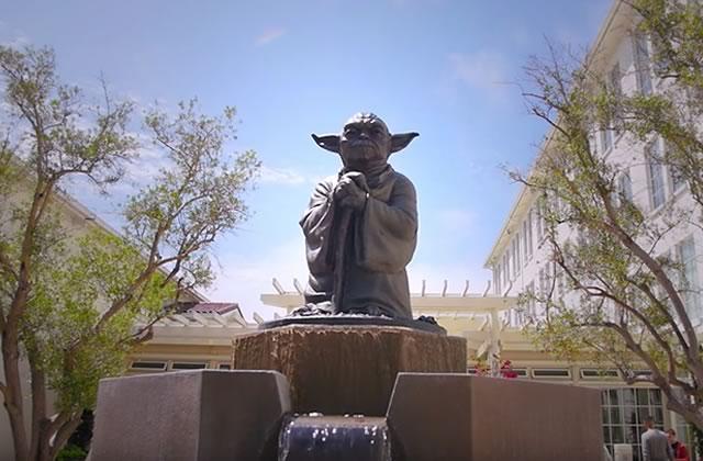 De nouvelles images de Star Wars Land, un parc d'attractions dédié à la saga !
