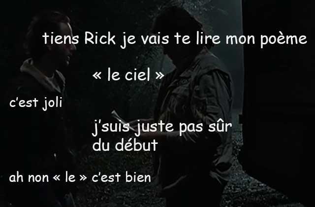 The Walking Dead S06E16 — Le récap (rigolo)