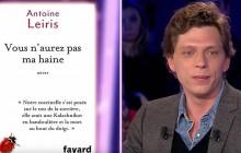 «Vous n'aurez pas ma haine » : Antoine Leiris magnifique chez Laurent Ruquier