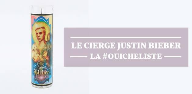 Le cierge Justin Bieber (ou Kanye West) – La #OuicheListe