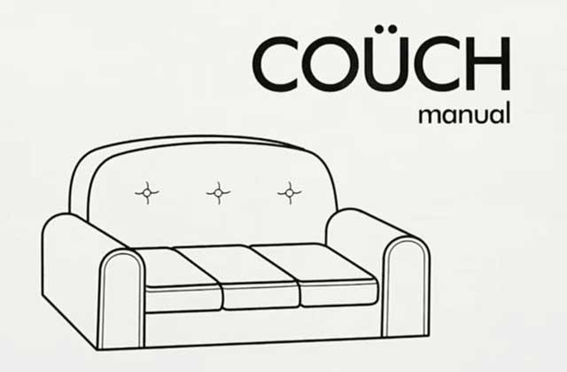 Le couch gag en kit, façon IKEA, des Simpson