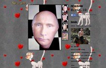 Le coussin Vladimir Poutine d'O Mighty—WTF Déco
