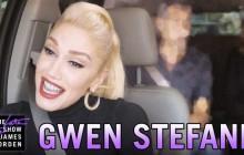 Gwen Stefani en karaoké dans la voiture de James Corden (avec deux invités surprise!)