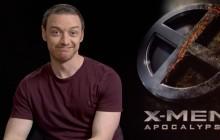 James McAvoy, fan de comics, nous présente «X-Men Apocalypse» en interview!