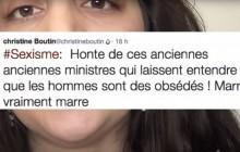 Klaire répond parfaitement à Christine Boutin: non, «les hommes» ne sont pas des obsédés