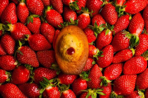 madeleine tonka fraises