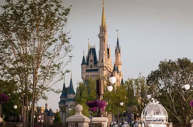 Se marier devant le château de Cendrillon, maintenant c'est possible!