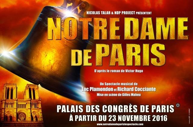 Notre Dame de Paris démarre sa tournée française en novembre !
