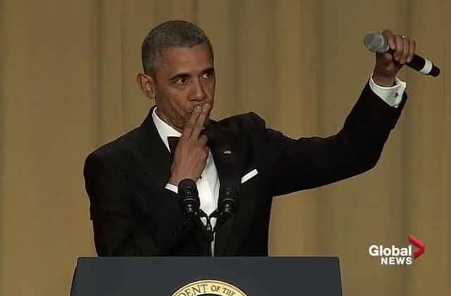 Obama fait son dernier speech au Dîner des Correspondants avec une coolitude extrême