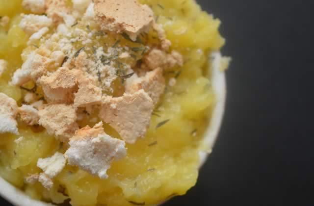 Le lemon curd au thym — Recette printanière