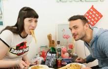 On mange quoi? Des spaghettis bolognaise… avec Jérôme Niel !